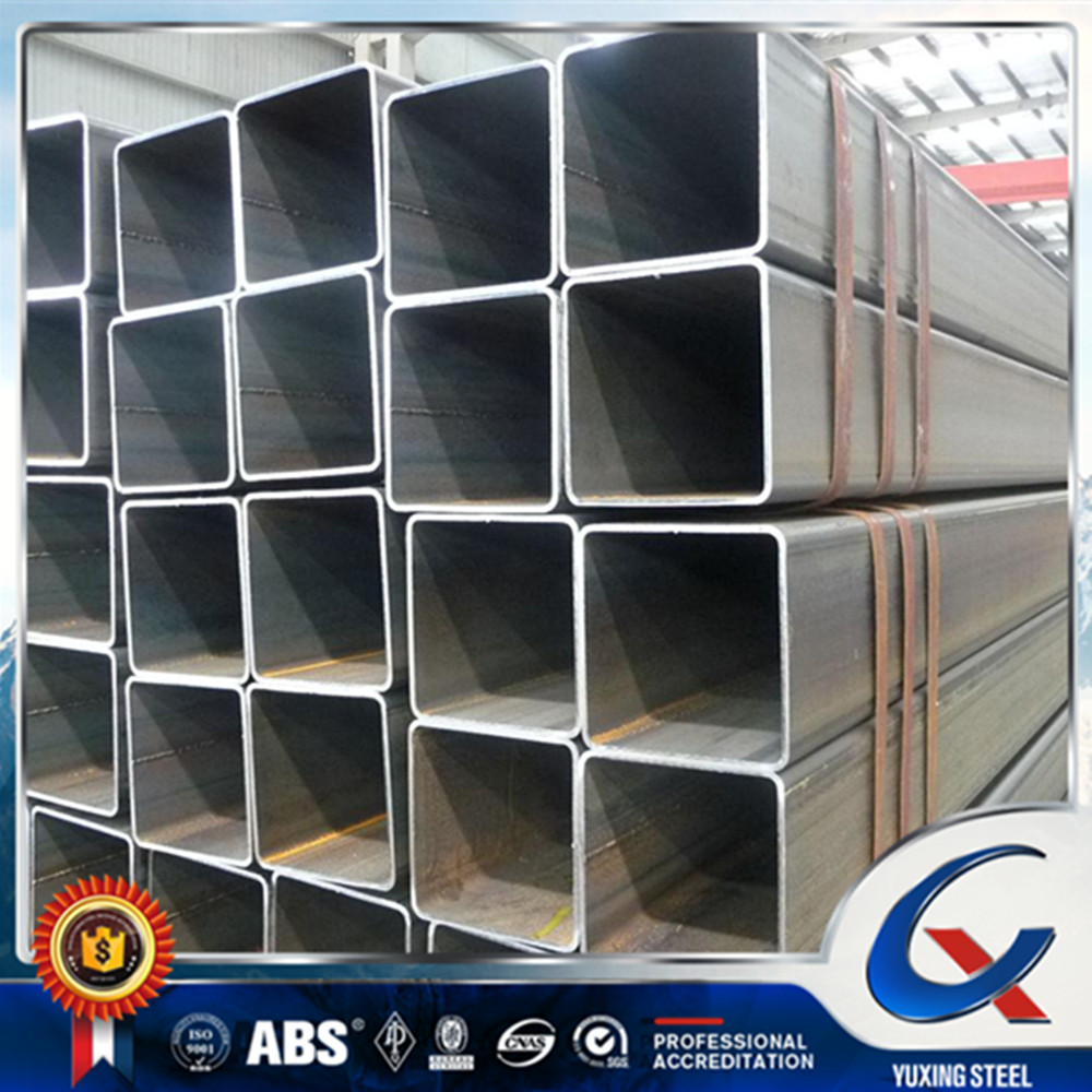 150x150x5.75 mm astm a500 cold formed steel square tube/ hollow section