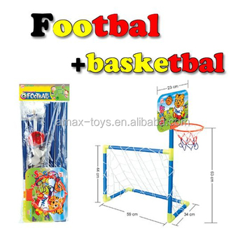 sf-196b baby Plastic Football Basketball Door Sports Toys