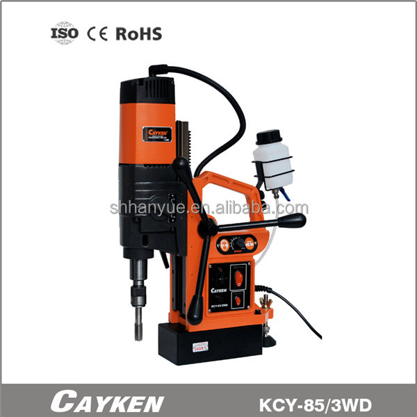 magnetic drill with TCT core drill bits KCY-85/3WD