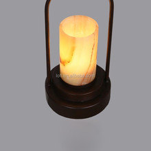 Oriental style hemp rope marble LED droplight for coffee shop/home