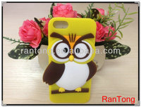 2014 hot selling product cute wol silicone phone case for iphone 4/4s