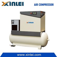 20HP 15KW linear electric screw air compressors with pure copper motor