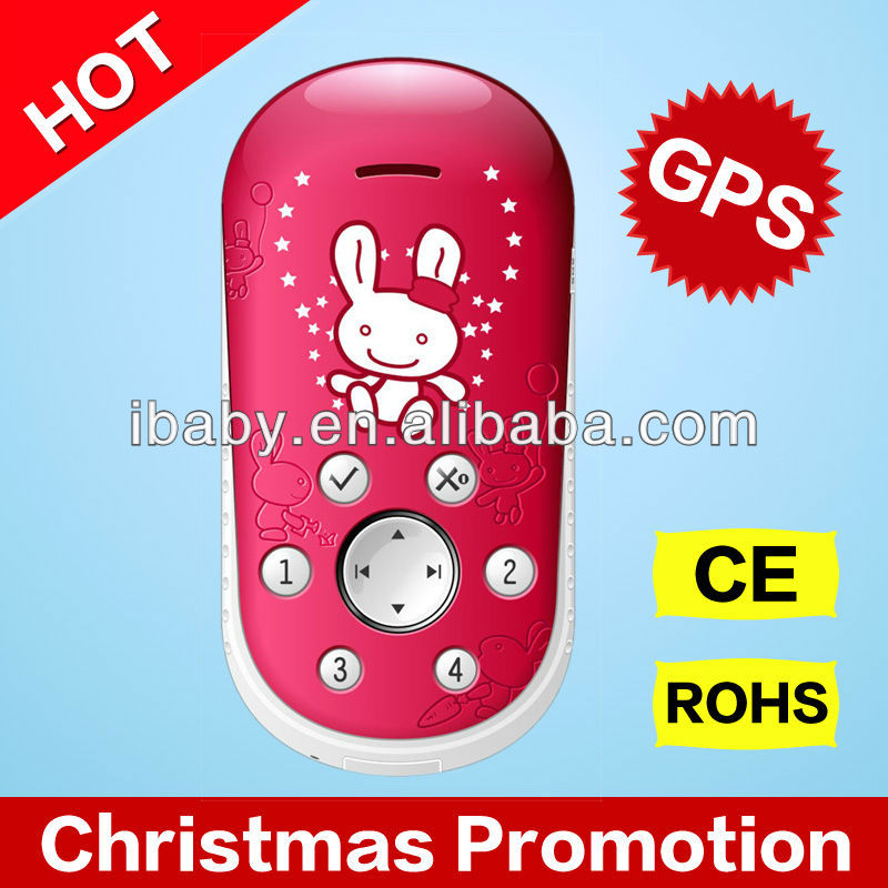 Kids gift Q5GN simple gps cartoon kids mobile phone