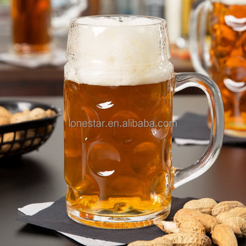 2018 China supplier Lonestar wholesale33.875 oz. (1 liter) Oktoberfest Customizable Beer Mug beer glass in Europe