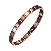 Wholesale Fashion Jewelry 2019 Magnetic Indian Copper Bracelets Amega Magnetic Bracelet