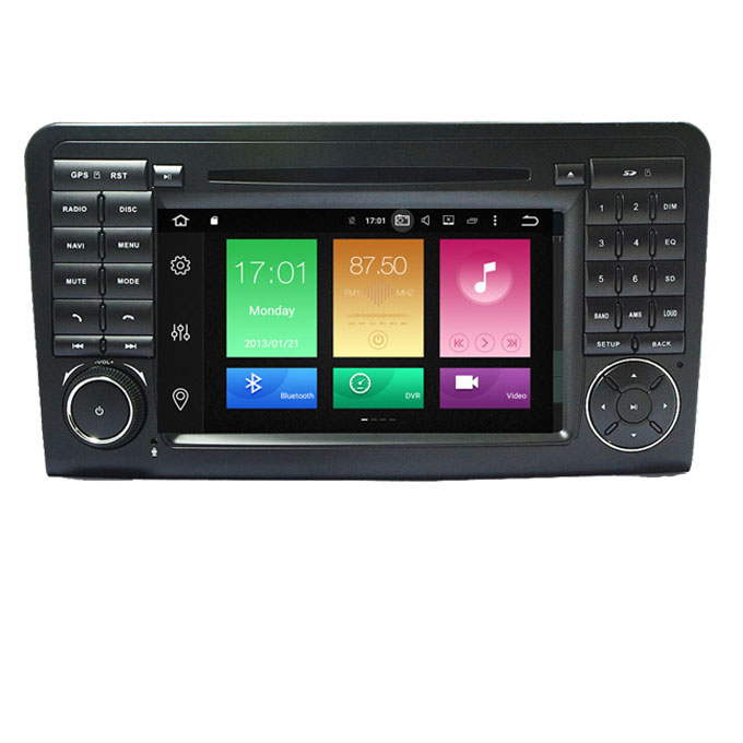 Car Multimedia Player GPS <strong>Android</strong> 8.0 2 Din Car DVD For Mercedes/Benz/GL ML CLASS <strong>W164</strong> ML350 4GB RAM DSP Radio Microphone Wifi