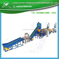 Recycling and washing machine for PE/PP film
