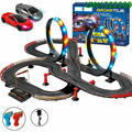 R/C Tracer Racers High Speed Remote Control Loop Track Set with Two Cars for Racing