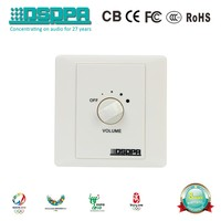 DSPPA PA system digital Romote Volume Control switch/Volume Controller (6W, 30W, 60W, 120W, 200W) WH-1 Series