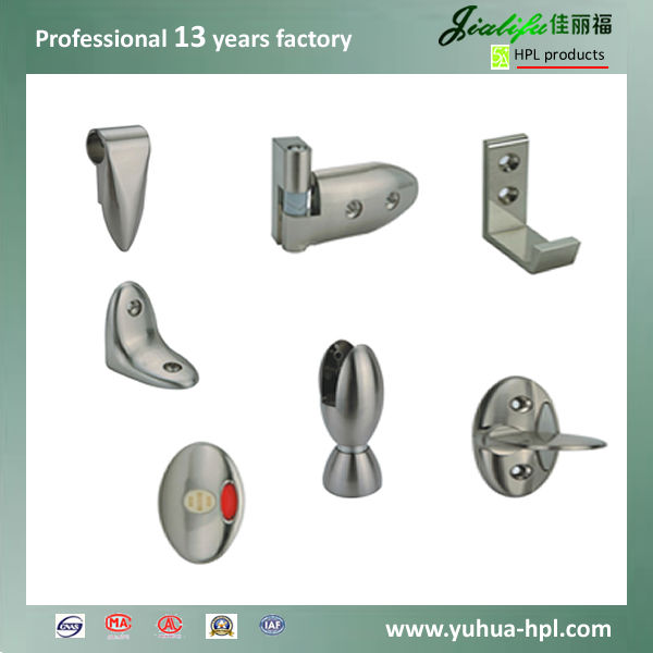 JIALIFU long service life 304 stainless steel toilet partition fittings