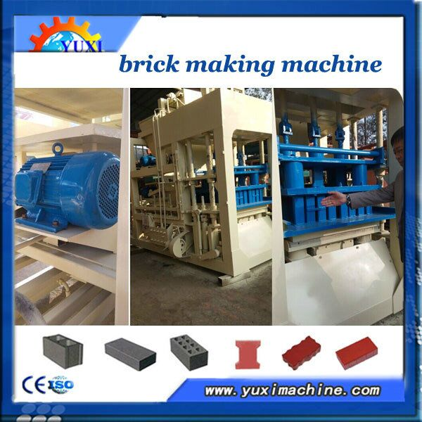 2013 Hot! cement Block Making Machine Qt10-15 Brick/block Making Machine Made In China (located In Zhengzhou)