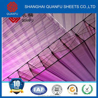 pc roof hollow sheet building plastic sun sheet 10 years warranty 28mm