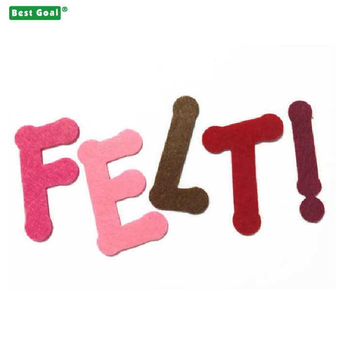 Decorative Alphabets Felt Letters for Wooden felt letter board