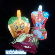 Safety food grade inflatable recycle nylon spout pouch