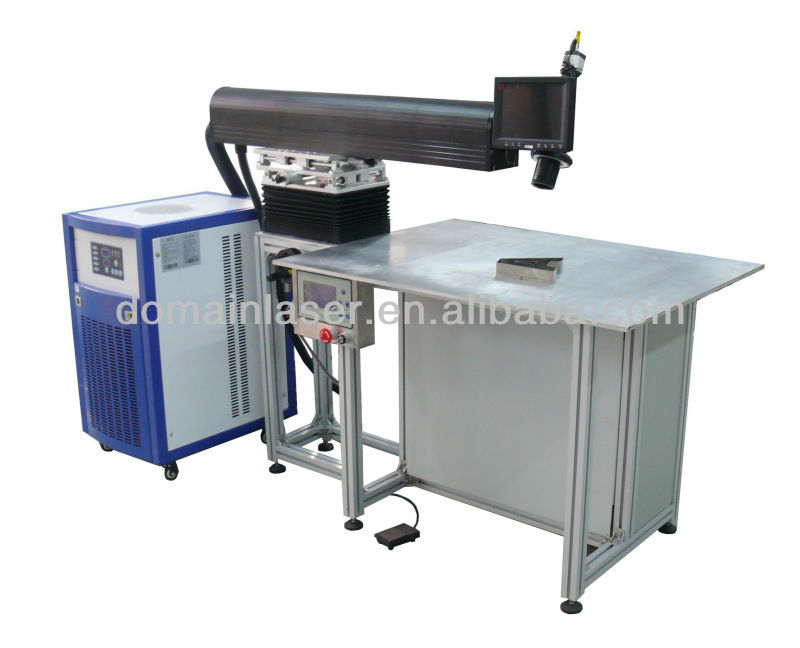 200W Galvanized Fonts Laser Welding Machine With CE