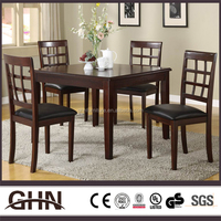 Luxury modern design 6788 wooden dining table and chair distributor with high quality