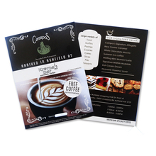 Different Size Leaflet Or Flyer Or Menu Or Poster Printing