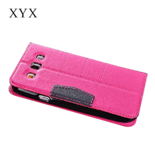 for samsung galaxy j5 back cover, shining pu leather cover folio case for samsung galaxy s3 with inner credit card slots