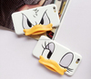 3D Nose Minnie Mickey Mouse Donald Duck Leather Phone Case For iPhone 6 plus