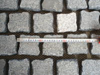 Own Factory Natural Split Stepping Cubic Stone for Road Pavement on Sale