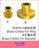 High Quality Diamond Tools Brass Collets For Ring