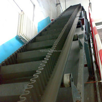 Big Dip Angle Belt Conveyor Electric