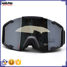 BJ-MG-019A Aftermarket Transparent Single Len Adult Off Road Fox Racing Goggles