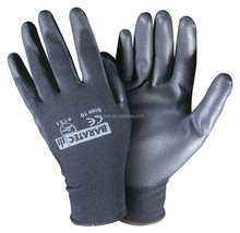 2018 best selling PU coated work safety gloves from manufacturer and supplier