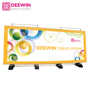 Alu. Giant Portable Water Base Backdrop Banner Display Stand Exhibition Booth Background