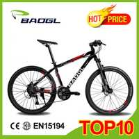portable aluminum frame 26 inches mountain bike 21 speed mountian bicycle