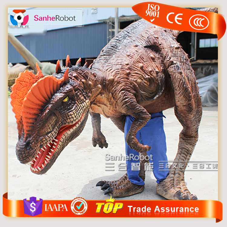 Theme Park Dorothy the Mascot Dinosaur Costume for Adult Dragon