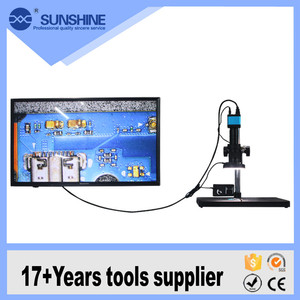 High Quality Mobile Phone Pcb Repairing Hdmi Microscope With 10 Inch Hd Lcd Display