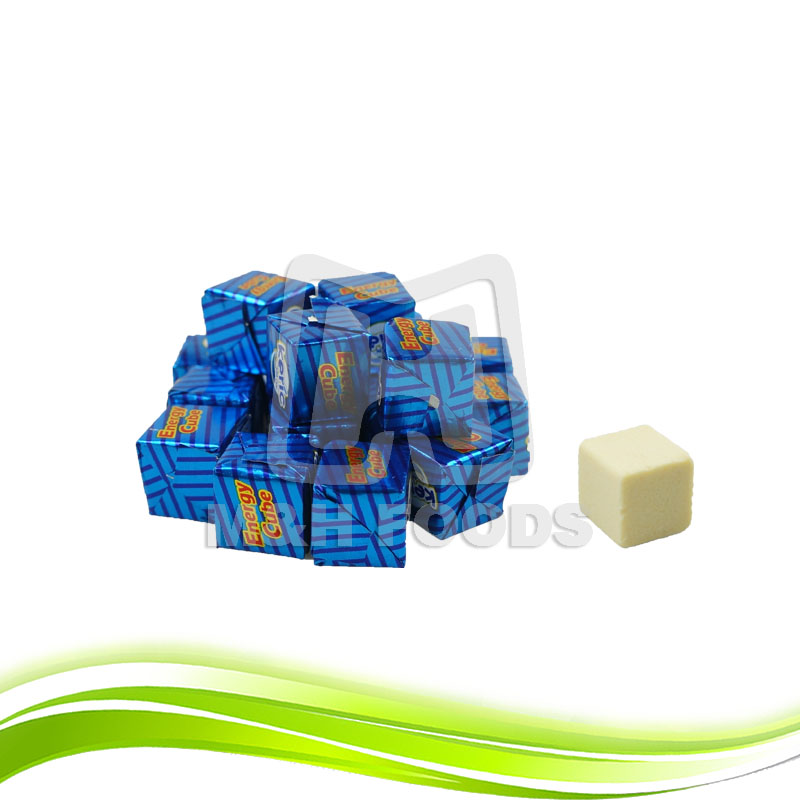 Delicious Milk Cube Hard Candy Tablets Candy