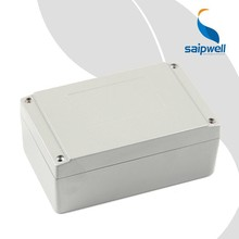 SAIP/SAIPWELL 160*100*65 Junction Box with CE Approved New Design IP66 Protection Level Aluminum Din Rail Enclosure