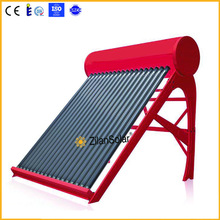 Glass Pipe Material and Solar Thermal Application red rock water heater