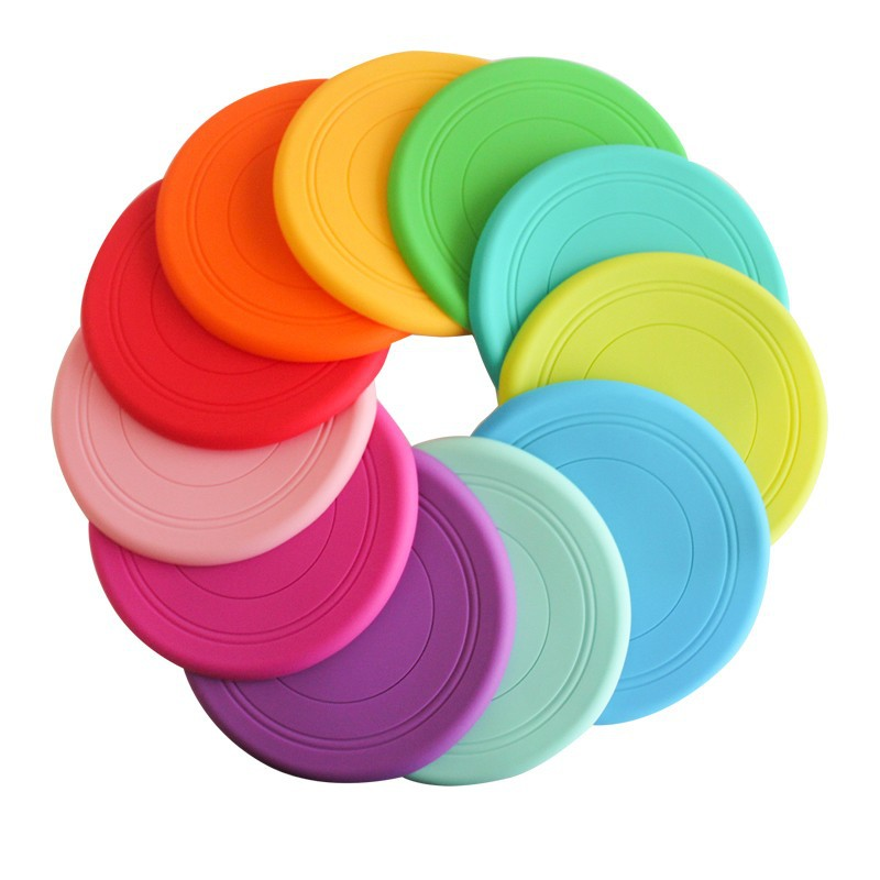 Hot Sale BPA Free Pet Toys Soft Dog Silicone Frisbee