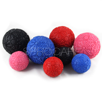 Mobility deep tissue spiky massage roller ball custom logo for foot hand&body massage,yoga therapy rehabilitation equipment