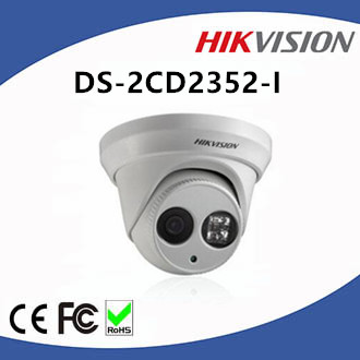 5MP Hikvision EXIR Infrared LED Outdoor H.264 Network Camera DS-2CD2352-I