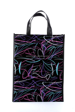 New design colourful line drawing foldable nonwoven shopping bag