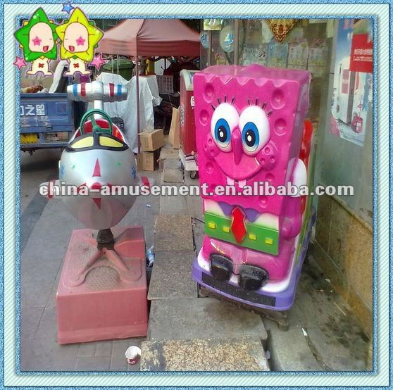 [Space Amusement] kiddy ride car rocking game machine