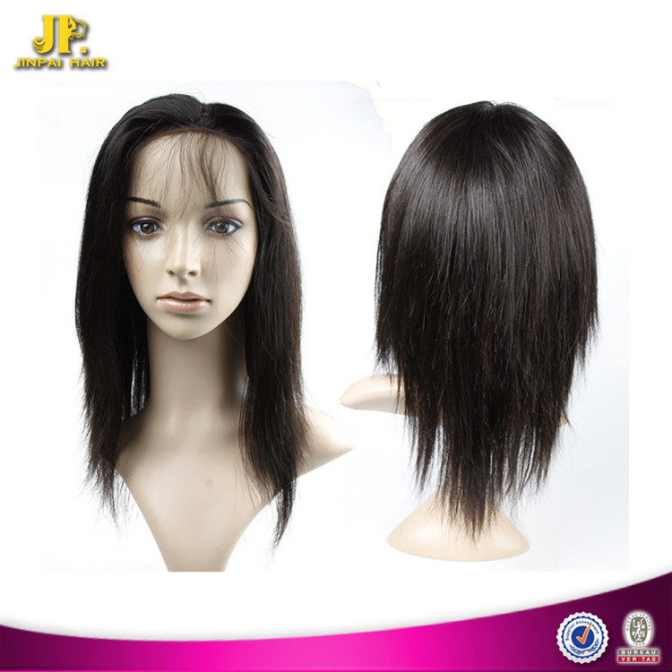 Long Lasting JP Hair Quality Certified Brazilian Remy Hair Lace Wigs