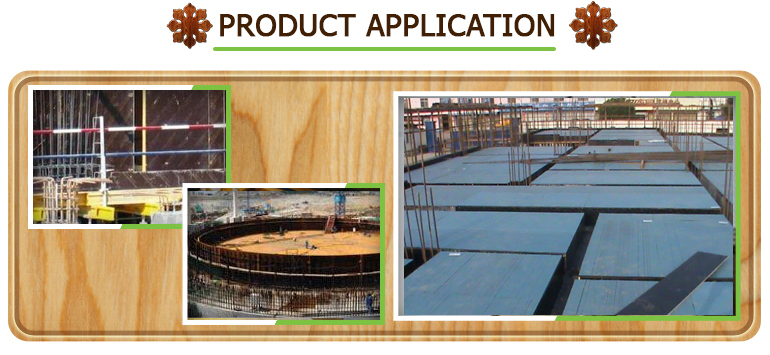 Factory Direct 20Mm Black Color Marine Plywood