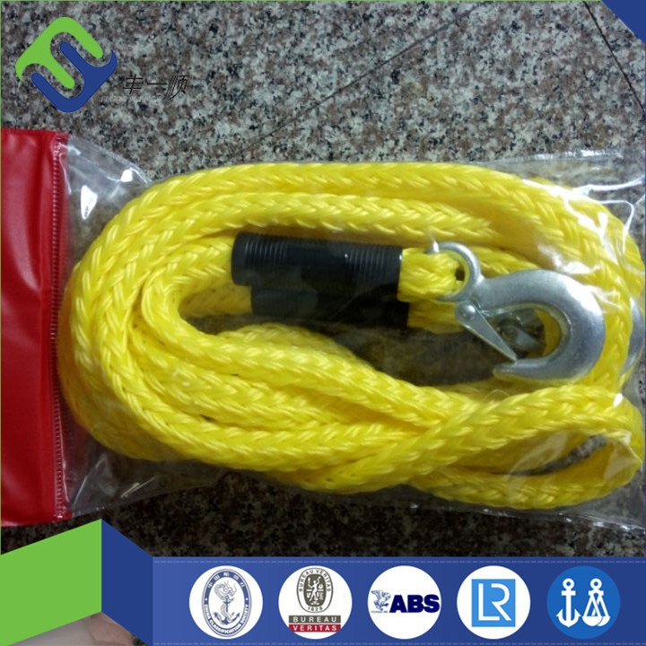 Auto Emergency Tool 4.2m braided pp car towing rope