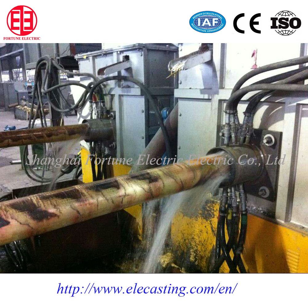Fully automatic horizontal brass/copper continuous casting machine with best after sales service
