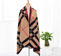 TOROS colorful 100% acrylic women winter Scarf shawl