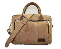 New product cowskin laptop computer 17 inch messenger bag leather