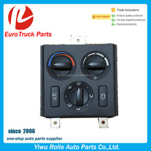 OEM 21318123 20508581 Heavy Duty European Truck Auto Electrical System Air Condition Switch Volvo Truck AC Control Panel Switch