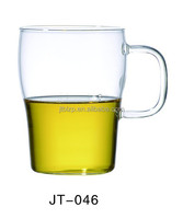 custom high quality transparent tumbler double wall naked beer glass cup