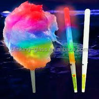 New LED flashing cotton candy stick,light up novelty glow stick for concert