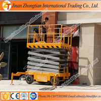 Top quality cheap Mobile Hydraulic Scissor Lift Trolleys Portable Scissor Table